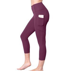Yogalicious Lux Super High Rise Capri Leggings